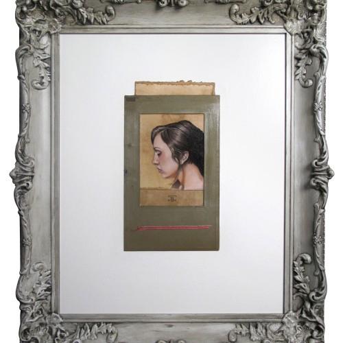 Brooke | oil on paper | 6.5 x 12
